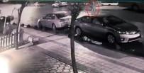 HALK OTOBÜSÜ - (Özel) Sancaktepe'de Alkollü Sürücünün Yayaya Çarparak Ölümüne Neden Olduğu Kaza Kamerada