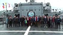 GARNIZON KOMUTANLıĞı - Tatbikata Katılan Savaş Gemileri Halkın Ziyaretine Açıldı