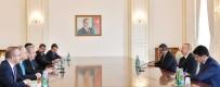 DAĞLIK KARABAĞ - TBMM Başkanı Şentop, Azerbaycan Cumhurbaşkanı Aliyev İle Görüştü
