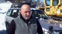 MURAT KAYA - Türkiye'nin İlk Kar Rallisi 'Şehitler Diyarı'nda