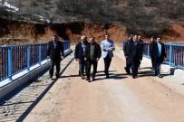 60 Yıllık Sorunu Çözen Köprüyü İnceleyen Vali Sonel, 'Zipline' Yaptı