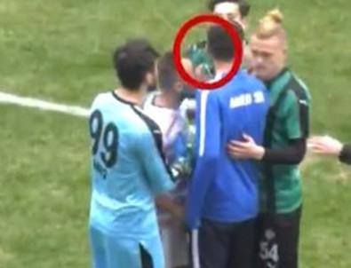 Amedsporlu futbolcuya tarihi ceza