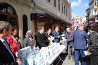 Bartın Belediyesi Vatandaşlara Kandil İkramı Yaptı