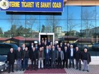 Başkan Adayı Kılıç'tan İş Adamlarına Açıklaması 'Yeter Ki Terme'ye Yatırım Yapın'