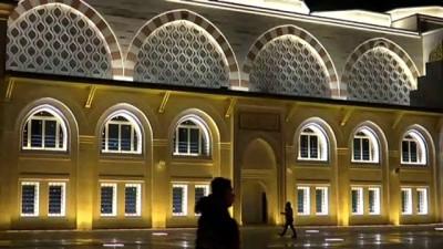 Çamlıca Camisi'nde ilk ezan okundu