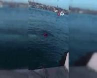 Eminönü'nde Otomobil Denize Uçtu Açıklaması 1'İ Çocuk 2 Kişi Kurtarıldı
