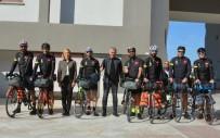 ŞÜKRÜ SÖZEN - Manavgatlı Bisikletçiler, Çanakkale Şehitlerine Memleket Toprağı Götürecek