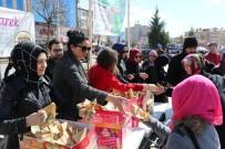 Safranbolu'da Kandil Simidi İkramı