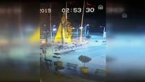 Saksılara Zarar Veren Şüpheli Güvenlik Kamerasına Takıldı