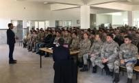 Sason'da Askerlere Madde Bağımlılığı İle İlgili Konferans Verildi