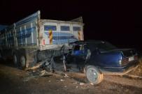 Şuhut'ta Trafik Kazası Açıklaması 1 Ölü 1 Yaralı
