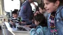 Tatbikatta Yer Alan Savaş Gemileri Ziyarete Açıldı