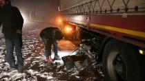Tendürek Geçidi'nde Çok Sayıda Araç Mahsur Kaldı