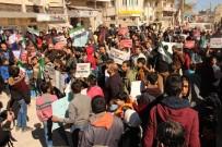 AZEZ - Azez'de İşkence Yuvası Rejim Hapishaneleri Protesto Edildi
