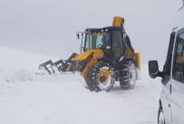Bingöl'de Kar Ve Tipi  75 Köy Yolunu Kapattı