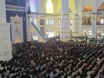 ÇAMLıCA - Çamlıca Camisi'ndeki İlk Cuma Namazı