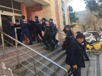 KAR MASKESİ - Çanakkale'deki Silahlı Soyguna 4 Tutuklama