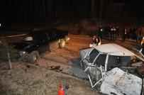 Cip İle Çarpışan Otomobil Hurdaya Döndü Açıklaması 5 Yaralı