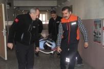 Elazığ'da Öğrencilerle Deprem Ve Yangın Tatbikatı