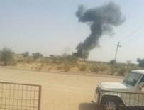 HAVA KUVVETLERİ - Hint savaş uçağı Pakistan sınırında düştü!