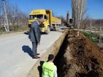 ŞEHİR İÇİ - Hisarcık'ta Doğalgaz Boruları Döşeniyor