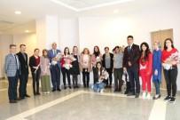 NEVÜ Kadın Personel Ve Öğrencilerine 'Kadınlar Günü'nde Karanfil