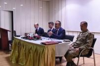 Polateli İlçesinde Seçim Güvenliği Toplantısı Yapıldı