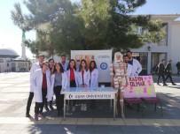 Uşak Üniversitesi Tıp Fakültesi Öğrencilerinden İlginç 8 Mart Etkinliği