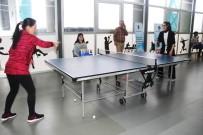 TUTKAL - Van'da Kadın Masa Tenisi Turnuvası