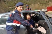 Yenice'de Jandarma Kadınlar Günü'nü  Unutmadı