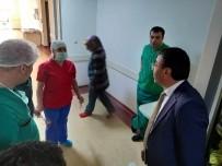 Başkan Toksoy, Hastaneye Anlamlı Ziyaret