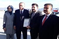 Cumhurbaşkanı Erdoğan,20 Yıl Önceki Mektup Arkadaşıyla Görüştü
