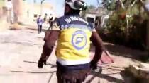 ROKET SALDIRISI - Esad Rejimi İdlib'e Yine Saldırdı Açıklaması 1 Ölü, 4 Yaralı