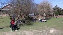 Gölcük Tabiat Parkı'nda Ziyaretçi Yoğunluğu