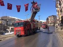 Hakkari'de Cumhurbaşkanı Erdoğan Hazırlığı