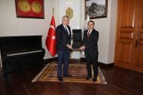 İstanbul Sanayi Odası Başkanı Erdal Bahçıvan Kars'ta