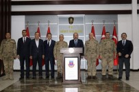 Jandarma Genel Komutanı Orgeneral Arif Çetin, Vali Atik'i Ziyaret Etti