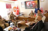 JANDARMA GENEL KOMUTANI - Jandarma Genel Komutanı Orgeneral Çetin'den Güvenlik Korucuları Şehit Ve Gazi Aileleri Federasyon'na Ziyaret