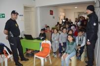 POLİS KARAKOLU - Polis Amcalarından Engelli Öğrencilere Eğitim