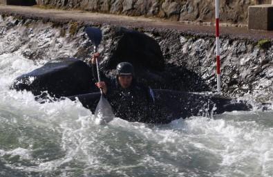 Rize'de kano yarışları nefesleri kesti