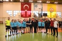 TRAKYA ÜNIVERSITESI - 'Topuklu Kramponların' Şampiyonu Trakya Üniversitesi Oldu