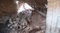 Sason'da Çöken Ahırda 6 Keçi Telef Oldu