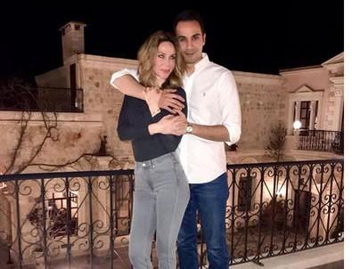 Demet Şener ile Cenk Küpeli çiftinden romantik tatil!