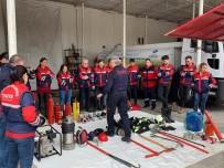 DOĞAL AFET - Gönüllü İtfaiyeciler Pratik Eğitimlere Başladılar