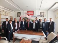Kazımkarabekir Belediyesi'nde Devir Teslim Töreni Yapıldı