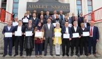 Korkuteli Belediye Meclis Üyeleri Mazbatalarını Aldı
