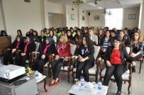 MEME KANSERİ - Afyonkarahisar'da Kadın Polisler Meme Kanseriyle İlgili Bilgilendirildi