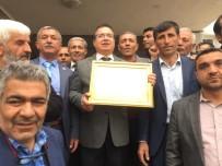 Bağımsız Belediye Başkanı Ali Kazgan Mazbatasını Aldı