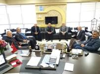 VEZIRHAN - Başkan Ocak'a Hayırlı Olsun Ziyaretleri Devam Ediyor