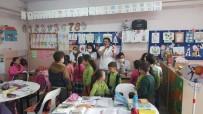DIŞ MACUNU - Hisarcık'ta Öğrencilerin Dişlerine Flor Vernik Uygulaması